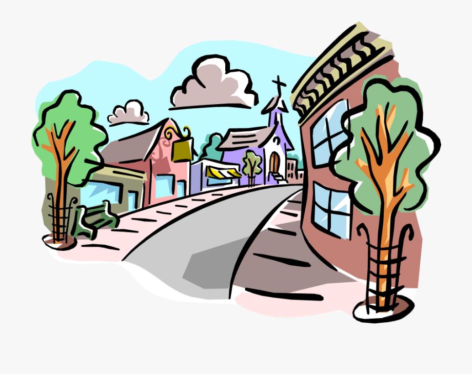 Community story setting . Neighborhood clipart social