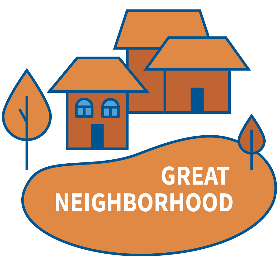 Home great places in. Neighborhood clipart town plaza