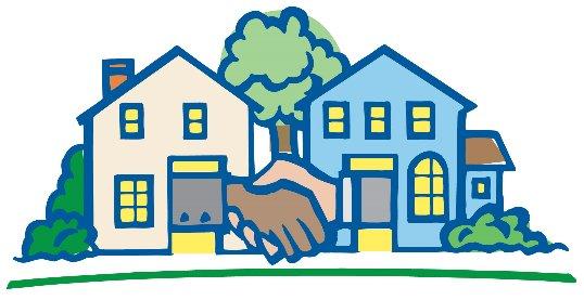 Neighborhood clipart good neighbor. Neighbors free download best