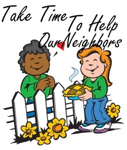 Get to know your. Neighbors clipart