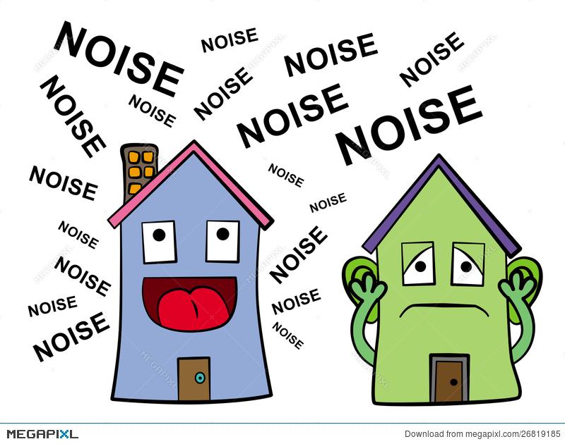 Noisy neighbor illustration megapixl. Neighbors clipart bad neighbour