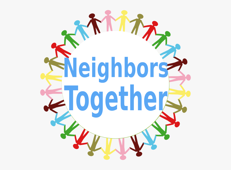 Together free cliparts on. Neighbors clipart clip art