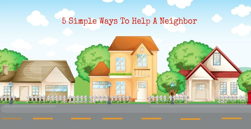 simple ways to. Neighbors clipart family help