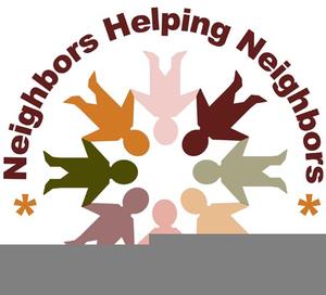 Neighborhood clipart neigh. Good neighbor free images