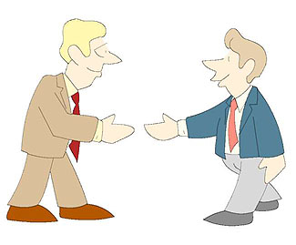 People each other clip. Neighbors clipart greeting person