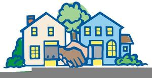 Neighbors clipart helpful. Neighbor helping free images