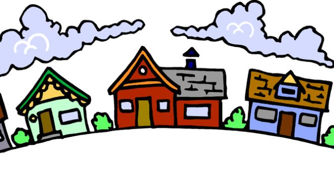 Neighbors clipart household. Children s sermon july
