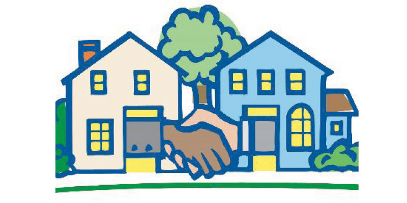 Neighbors clipart many house. Won t you be