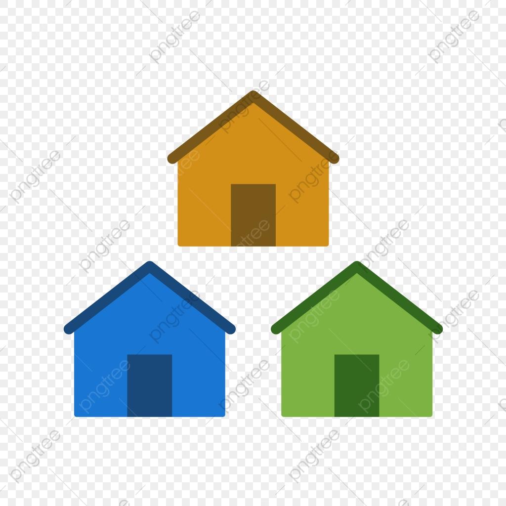 Neighbors clipart many house. Neighborhood icon community houses