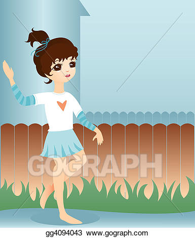 Neighbors clipart neighborhood kid. Stock illustration little neighbor