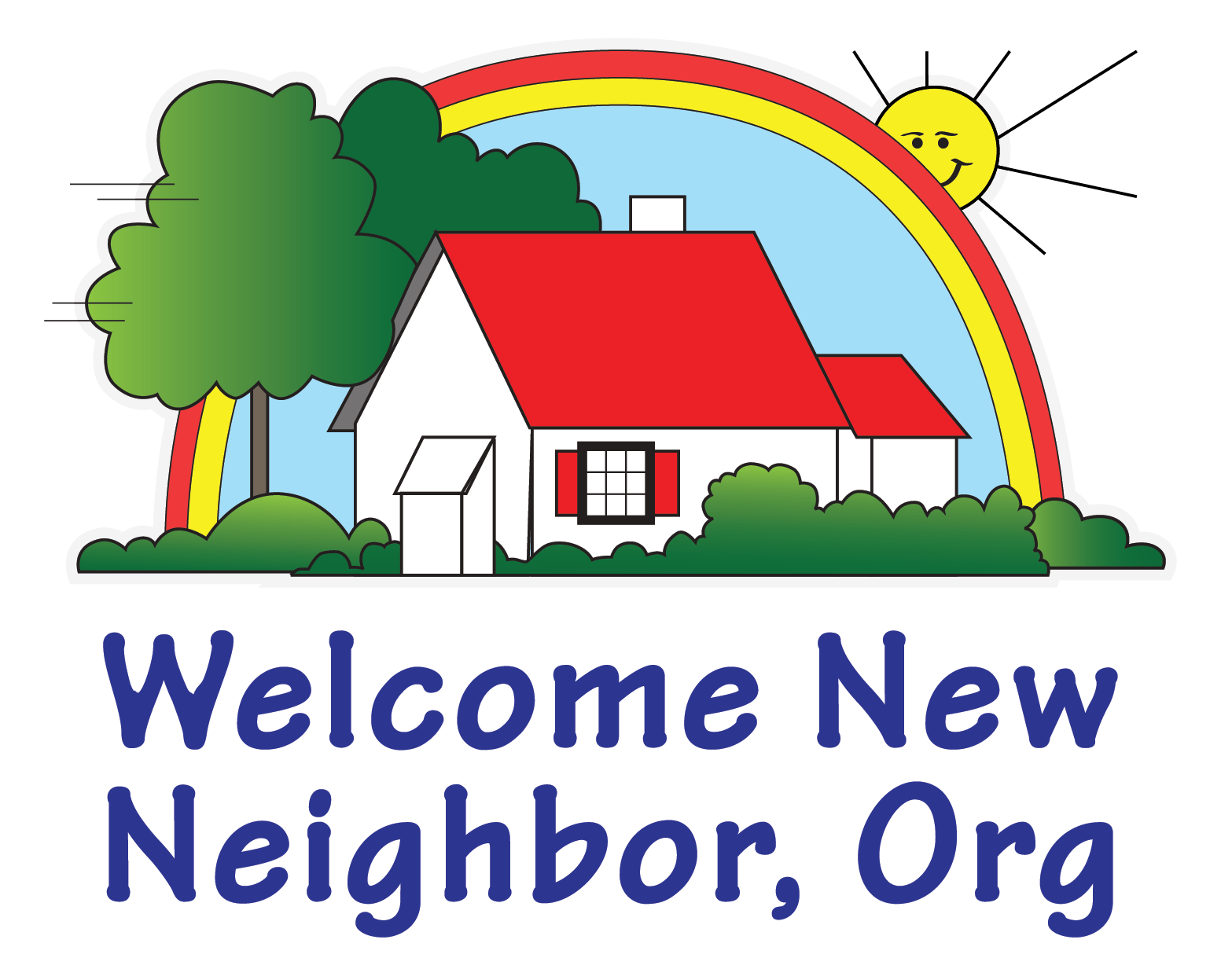 Neighbors clipart new home. Welcome neighbor org we