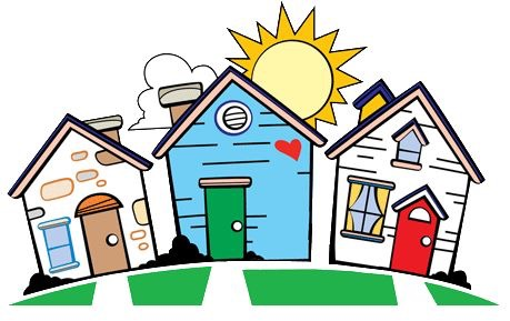 Just moved in tips. Neighbors clipart new home