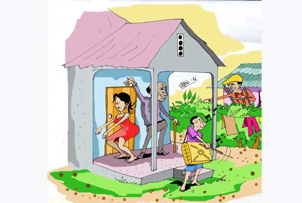 Neighbors clipart noisy neighbor. Dealing with neighbours daily