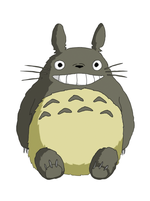 Neighbors clipart transparent. Totoro ghibli pinterest studio