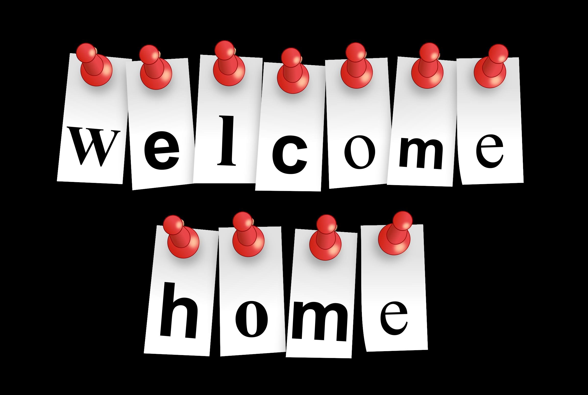 Website clipart welcome home sign. Karibu nyumbani oak tree