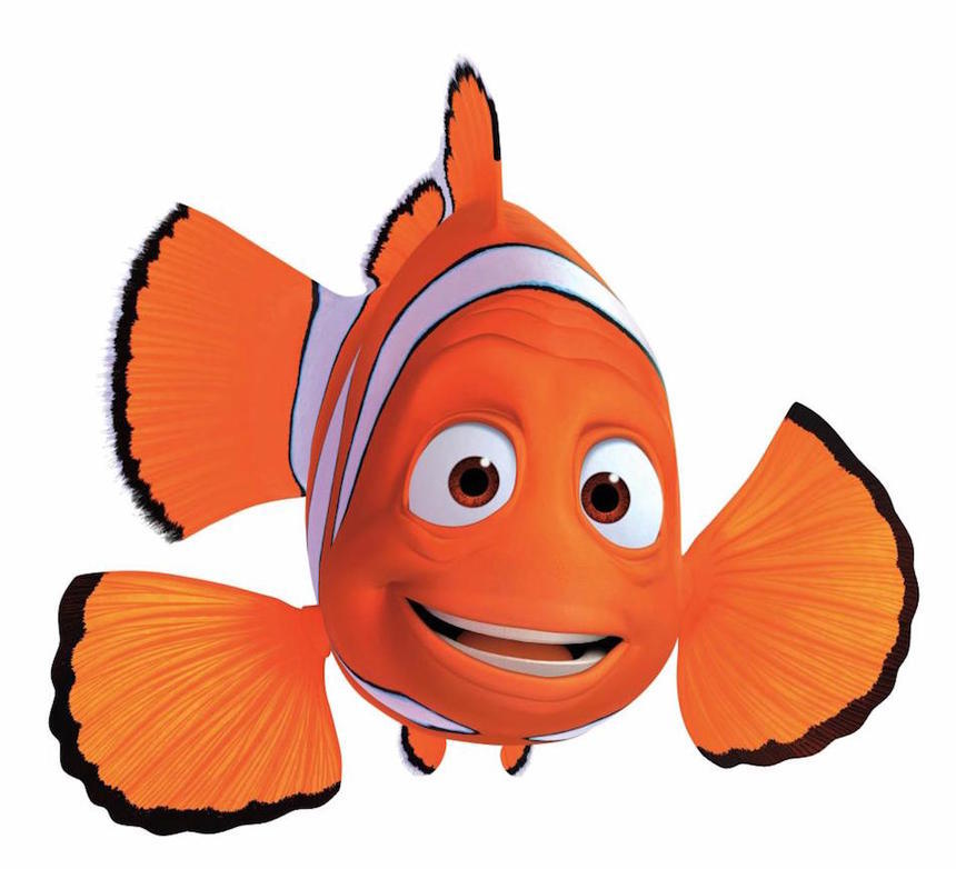 Finding quiz which character. Nemo clipart