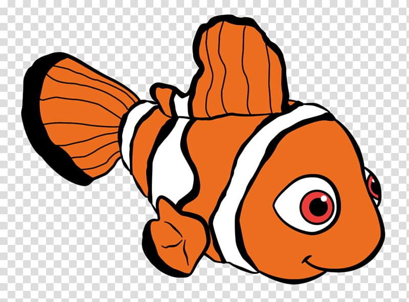 Cartoon sprite computer animation. Nemo clipart animated