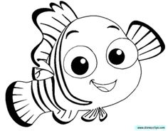 Finding free download best. Nemo clipart black and white