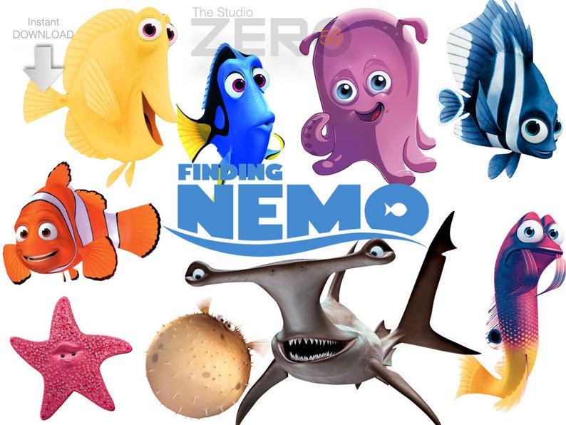 finding dpi png. Nemo clipart cartoon disney