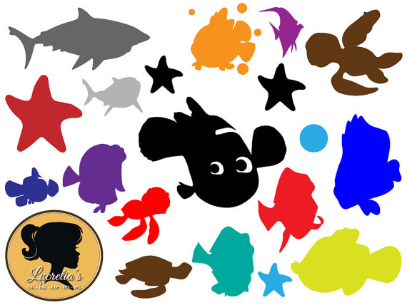 Nemo clipart christmas. Finding svg dory cutting