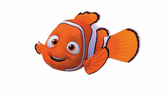 Nemo clipart clown fish. Character cookie cutter products