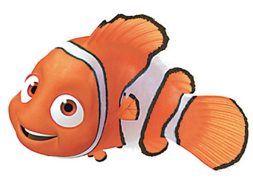 Unique clownfish finding file. Nemo clipart clown fish