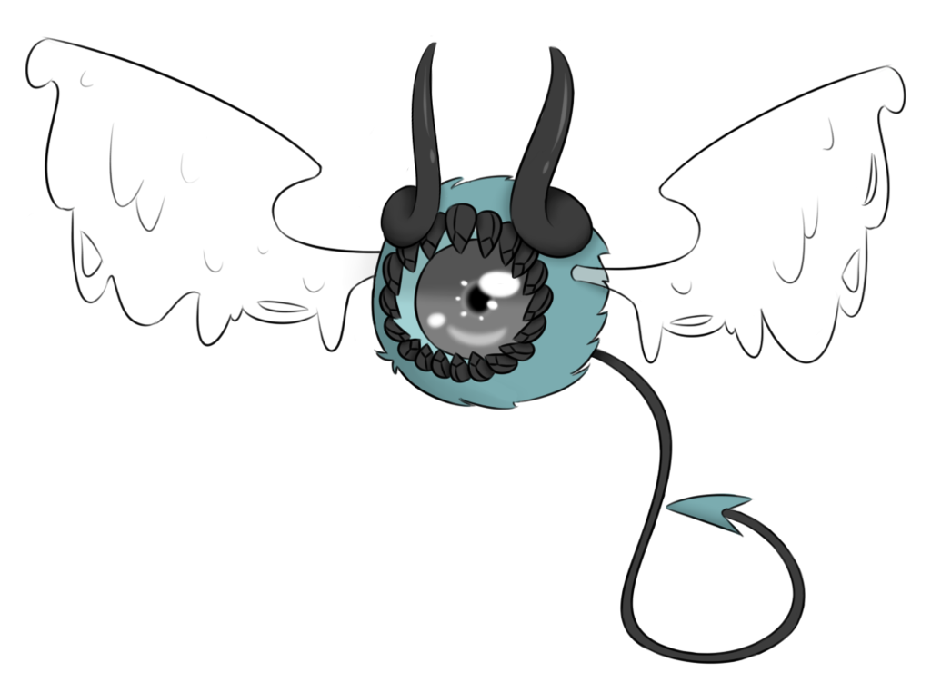 Nemo clipart eye. Xynthii eyebat by ruuma