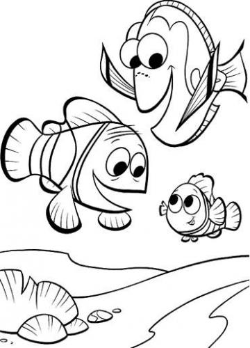My fun finding and. Nemo clipart family