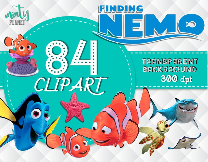 Png files full quality. Nemo clipart finding nemo