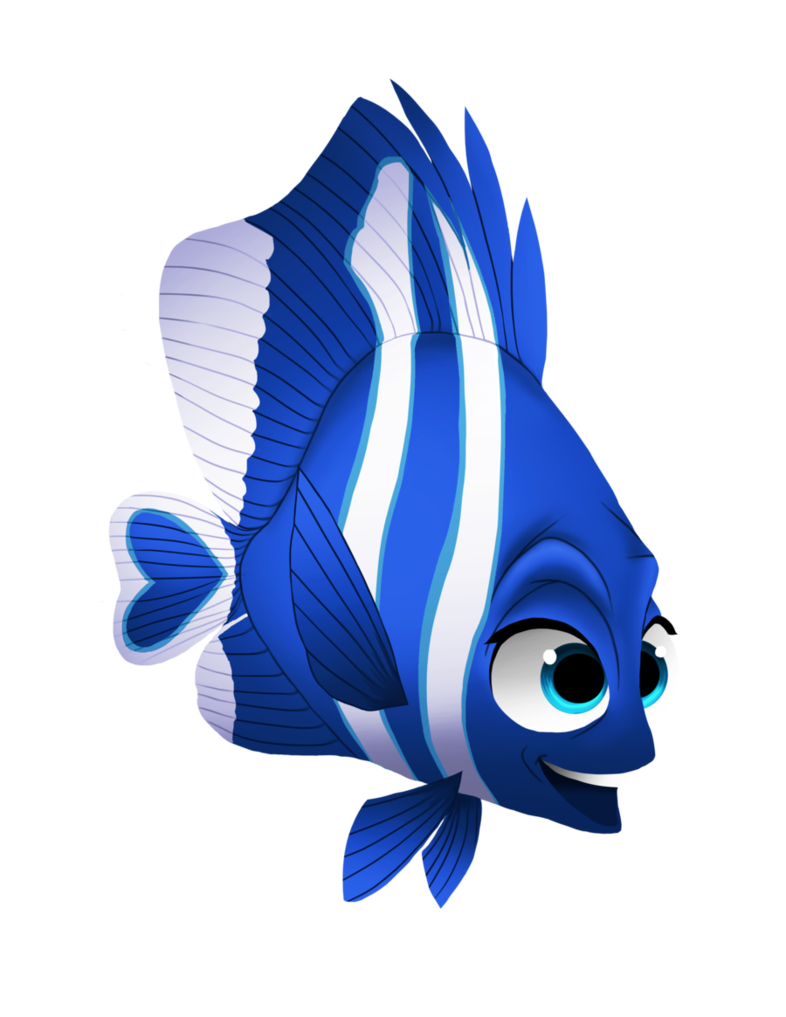 Disney girls collab by. Nemo clipart fish fin