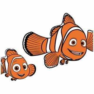 Windy closure is safe. Nemo clipart fish fin
