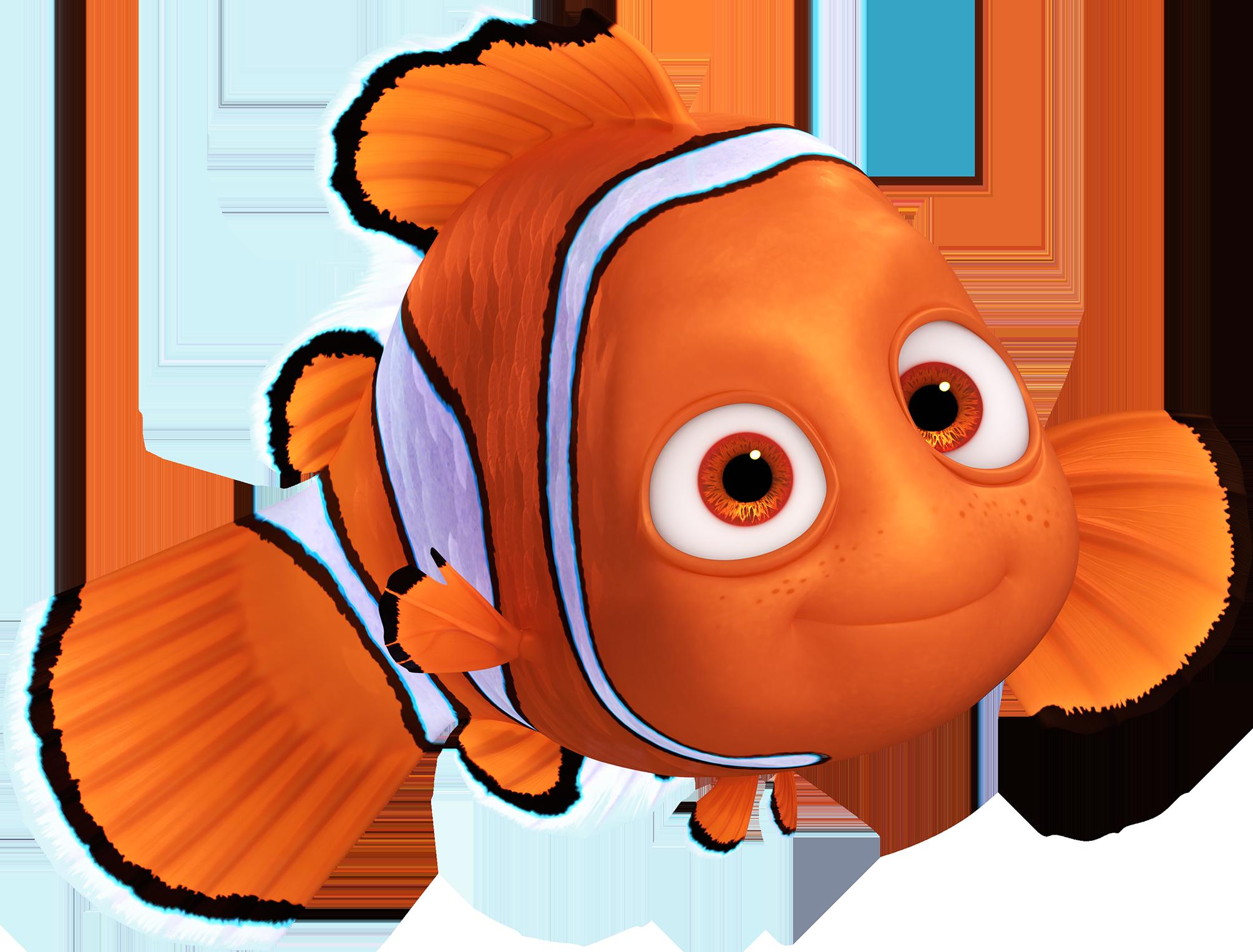 Nemo clipart fsih. Finding marlin pixar clip