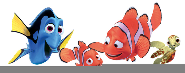 Nemo clipart fsih. Free fish images at
