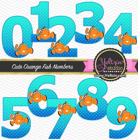 Nemo clipart ocean. Finding numbers clip art
