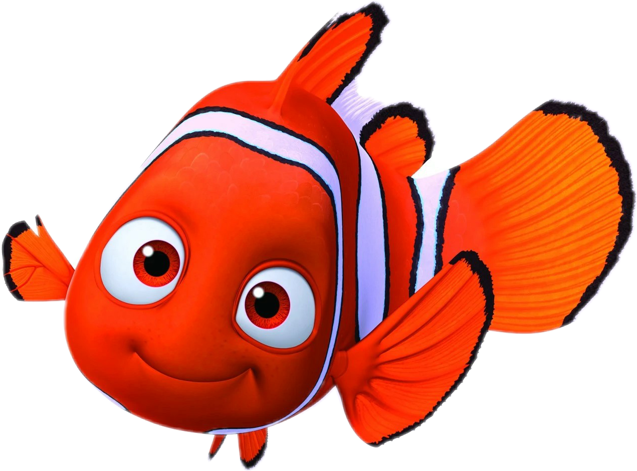 Nemo clipart peach. Youtube pixar drawing clip