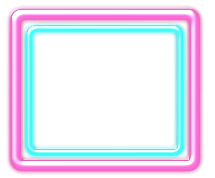 for free download. Neon frame png