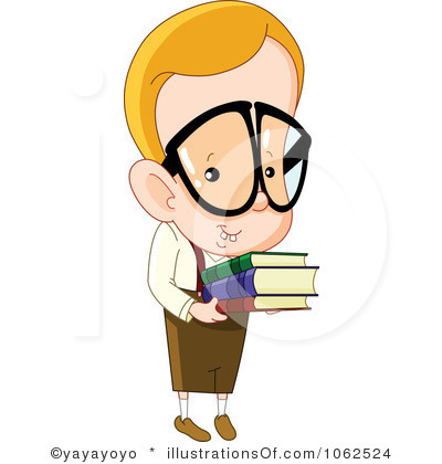 Nerd clipart.  collection of boy
