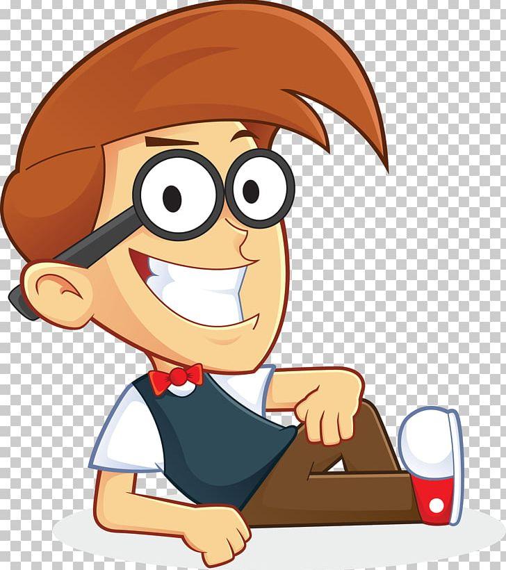 Nerd clipart animation. Geek cartoon png art