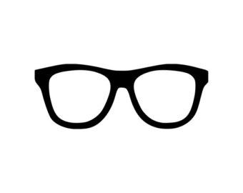 Glasses etsy . Nerd clipart horn rimmed glass