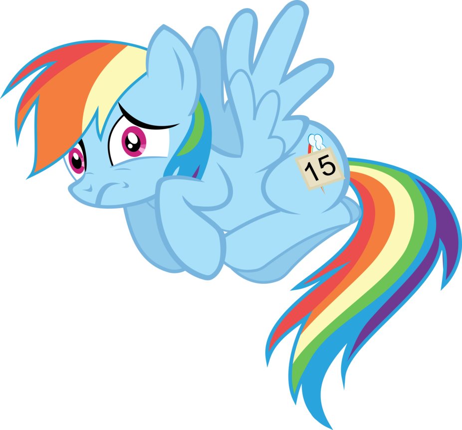 Rainbow dash scary by. Nervous clipart afraid