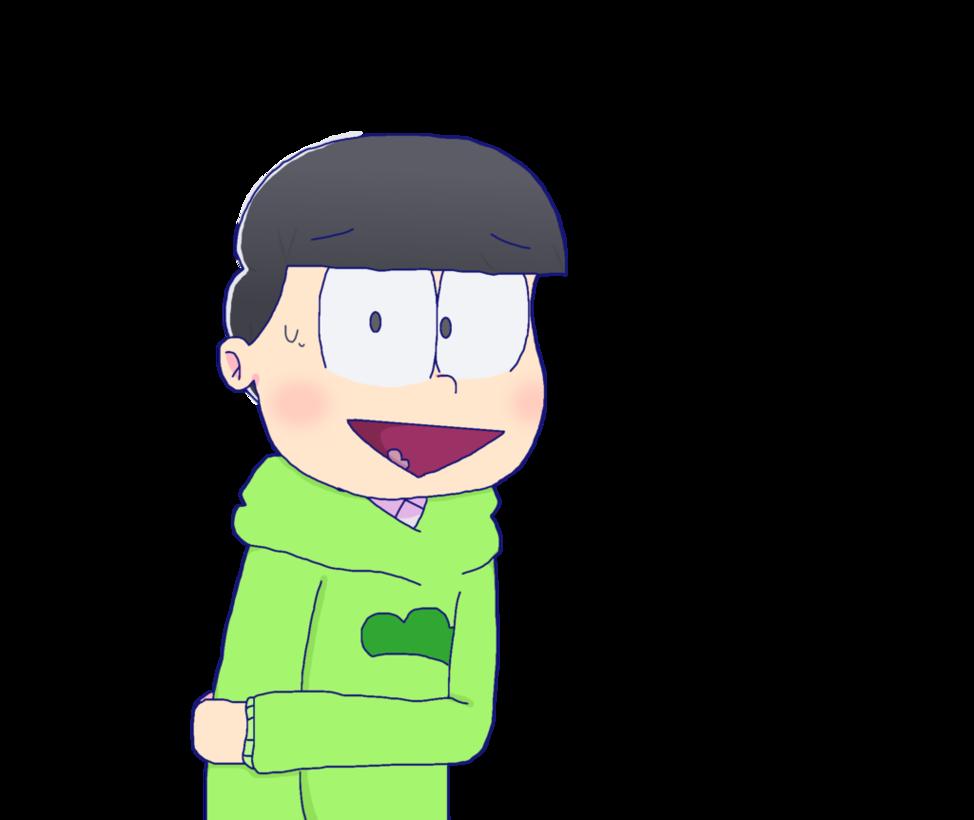 A lil shy choromatsu. Nervous clipart nervous boy