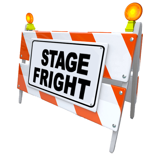 Nerves free on dumielauxepices. Nervous clipart stage fright