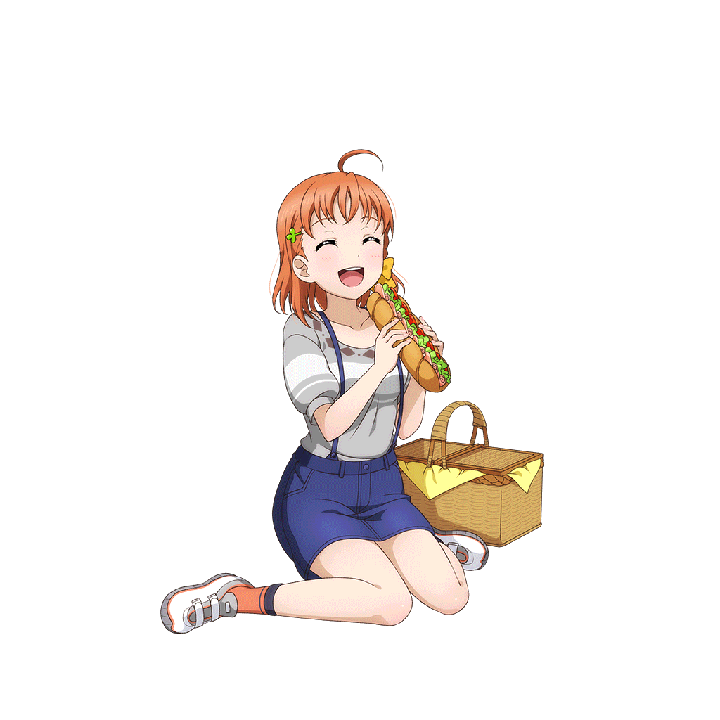 Nervous clipart uneasy. Cards chika takami sr