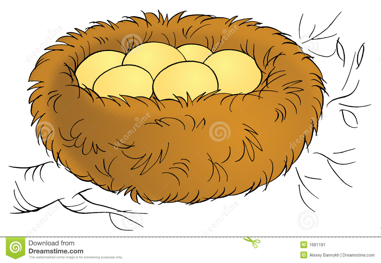 Nest clipart. Clip art leaving the