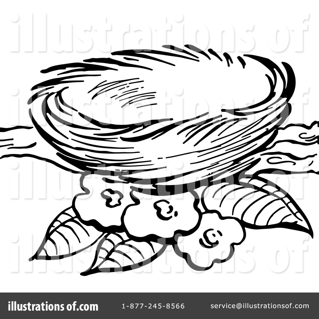 Nest clipart. Illustration by picsburg royaltyfree