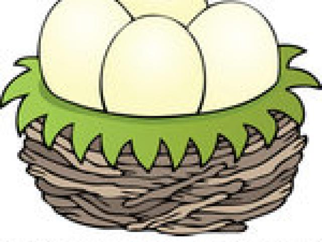 Nest clipart 5 egg. Free download clip art
