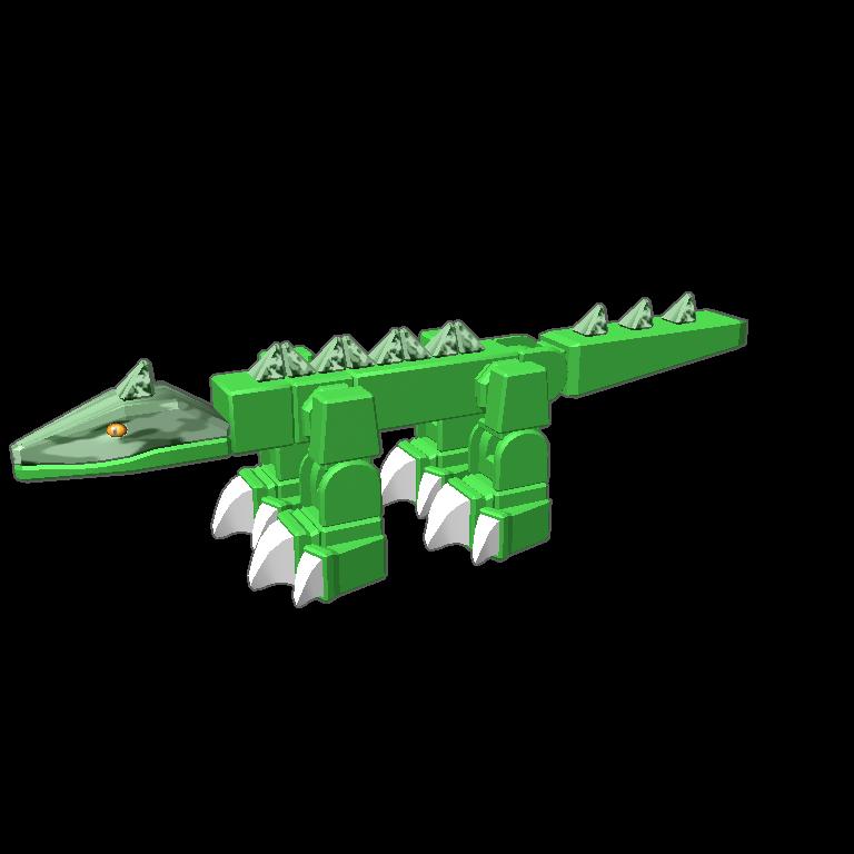 Blocksworld by indominus rex. Nest clipart alligator