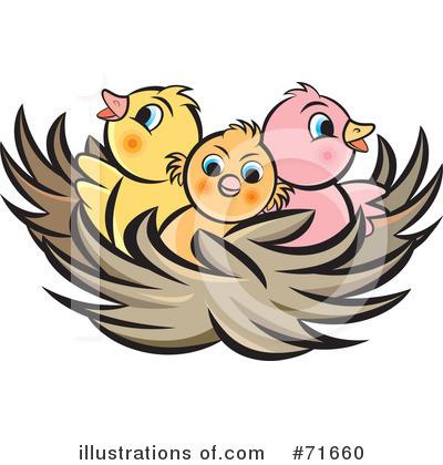 Clip art bay . Nest clipart baby bird