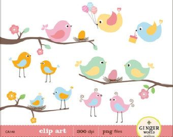 Nest clipart baby bird. Birds clipartfest clip art