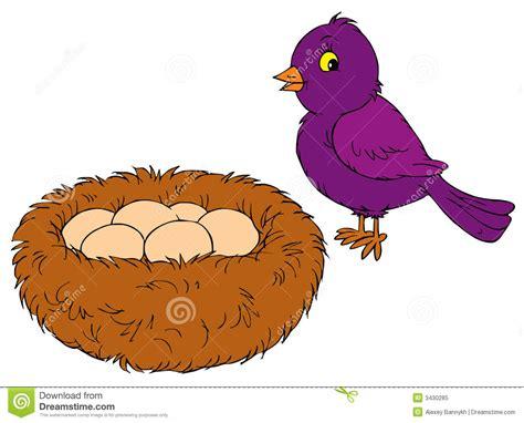 Nest clipart bird's nest. Clip art falcones